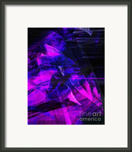 Night Rider . A120423.936.693 Framed Print By Wingsdomain Art And Photography