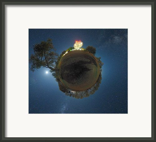 Night Sky Over Parkes Observatory Framed Print By Alex Cherney, Terrastro.com
