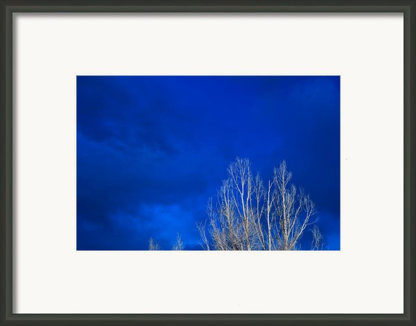 Night Sky Framed Print By Steve Gadomski