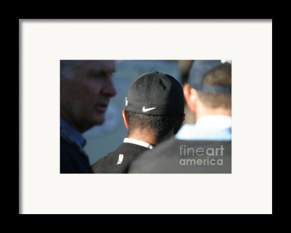 Nike Logo Framed Print By Chuck Kuhn