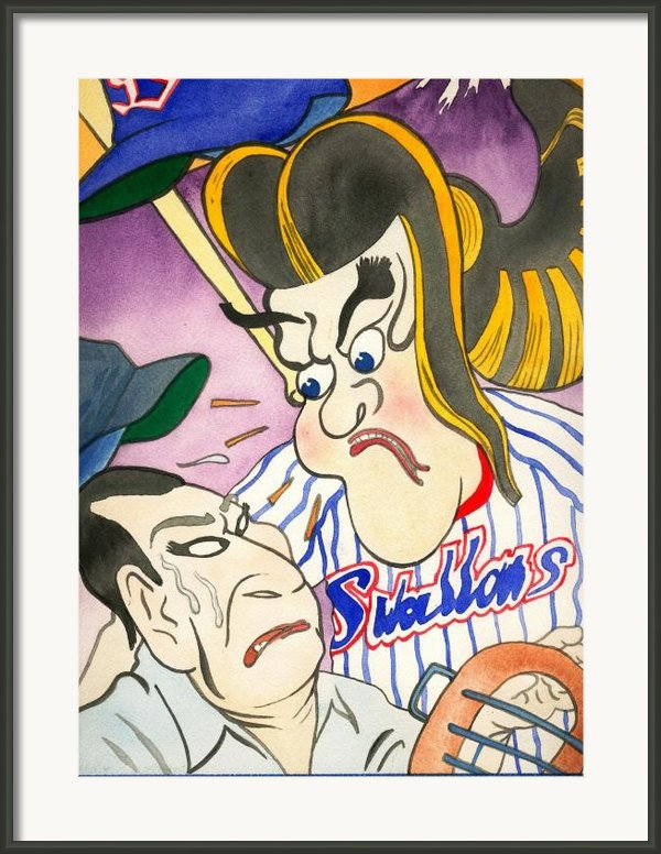 Nippon Baseball  Framed Print By Robert  Myers