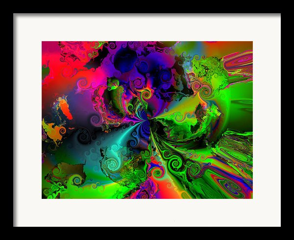 No Cooperation Framed Print By Claude Mccoy