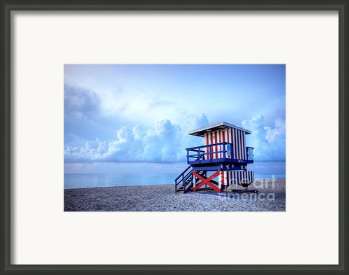 No Lifeguard On Duty Framed Print By Martin Williams