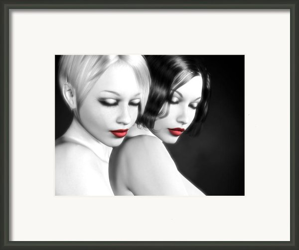 No More Secrets Framed Print By Alexander Butler