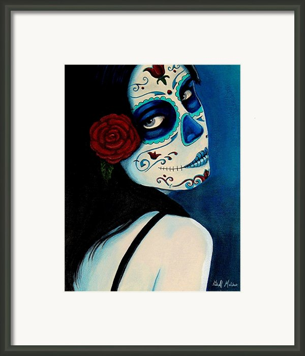 No Se Olvide De Mi Framed Print By Al  Molina