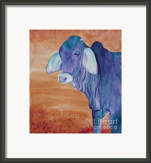 No Starch Added Aka Eeyore Framed Print By Tracy L Teeter