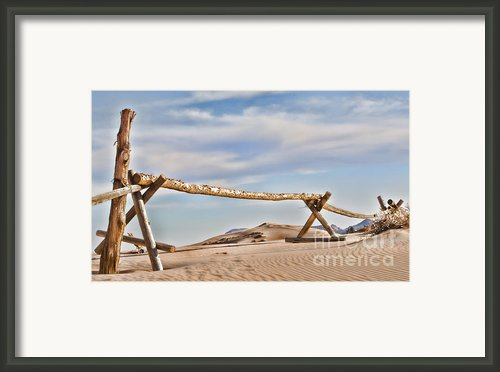 No Trespassing Framed Print By Heather Applegate