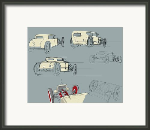 No.12 Variations Framed Print By Jeremy Lacy