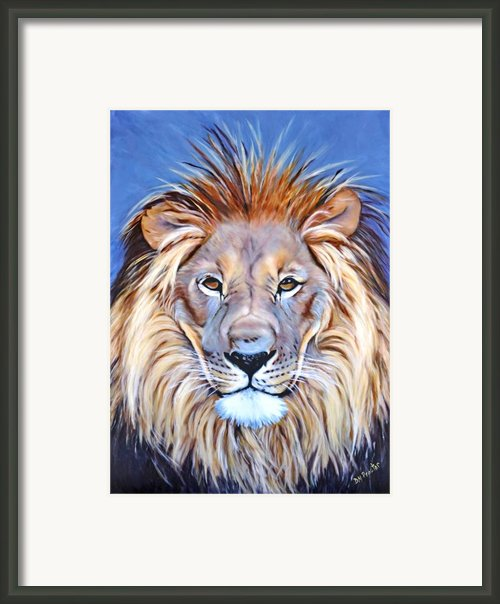 Noble Pride Framed Print By Donna Proctor