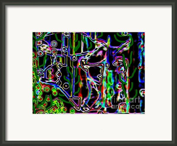 Nora  Framed Print By Navo Art