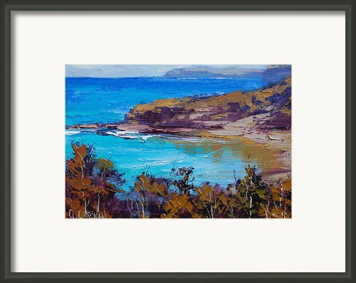 Norah Head Central Coast Nsw Framed Print By Graham Gercken