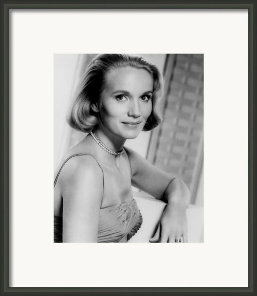 North By Northwest, Eva Marie Saint Framed Print By Everett