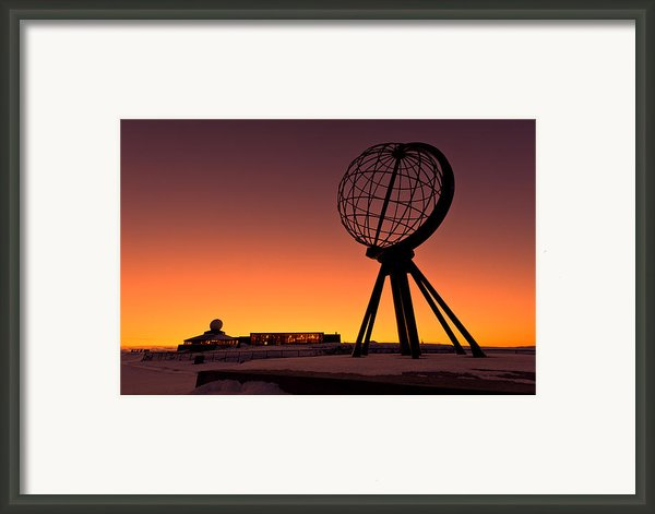 North Cape Norway At The Northernmost Point Of Europe Framed Print By Ulrich Schade