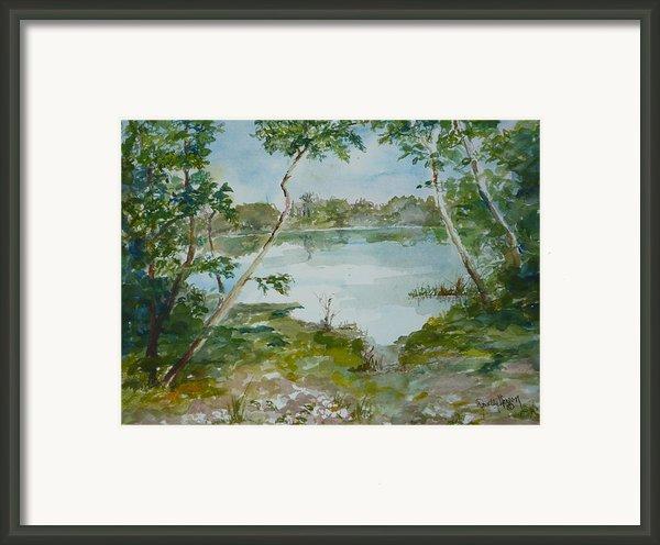 North Lake Framed Print By Dorothy Herron