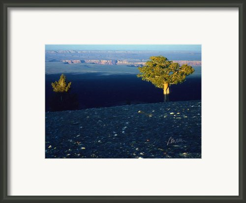 North Rim Sunset Framed Print By Jim Pavelle