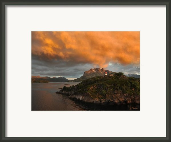 Norwegian Coast No. 6 Framed Print By Joe Bonita