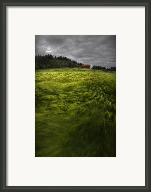 Norwegian Wave Framed Print By Andy Astbury