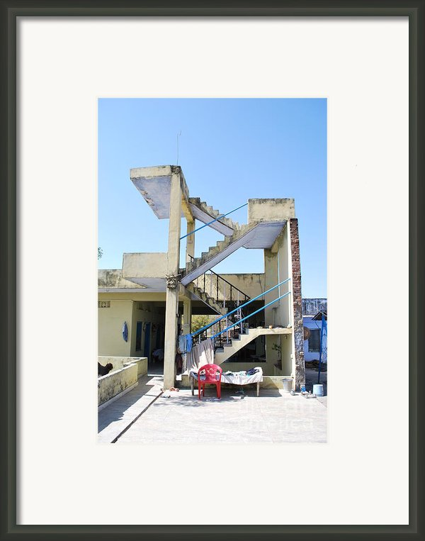 Not Quite A House Framed Print By Jen Bodendorfer