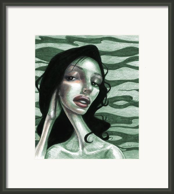 Not Thinking About You Framed Print By Michael Scholl