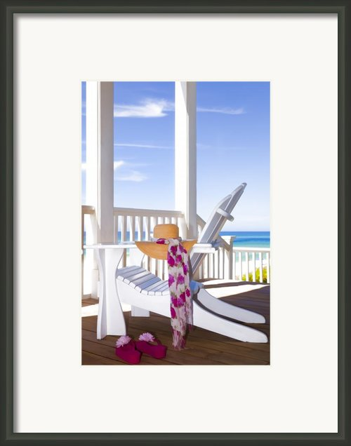 Nothing But Time Framed Print By Janet Fikar