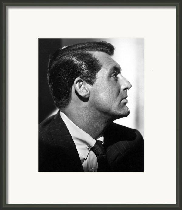Notorious, Cary Grant, 1946 Framed Print By Everett