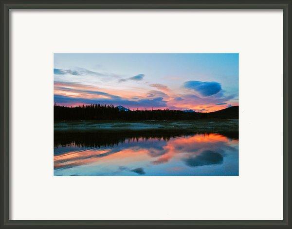 November Sunrise Framed Print By Bob Berwyn