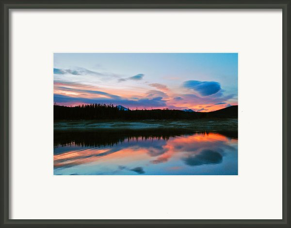 November Sunrise Framed Print By Bob Berwyn
