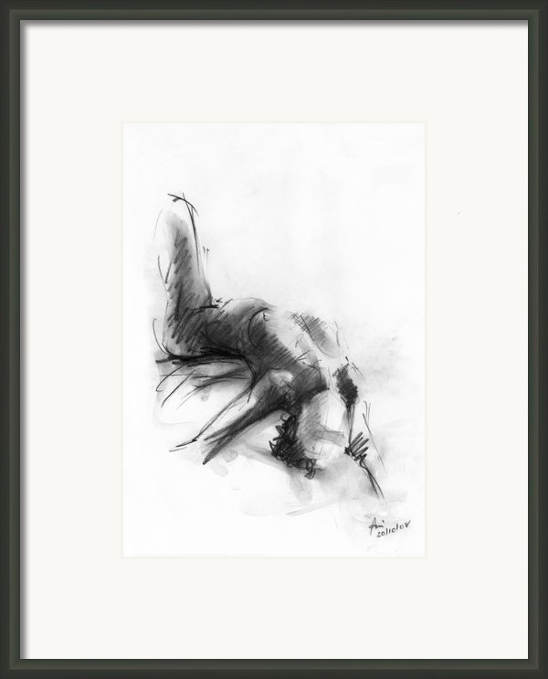 Nude 4 Framed Print By Ani Gallery