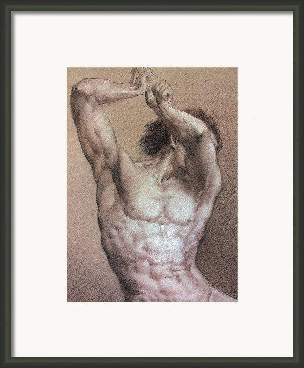 Nude 9 A Framed Print By Valeriy Mavlo