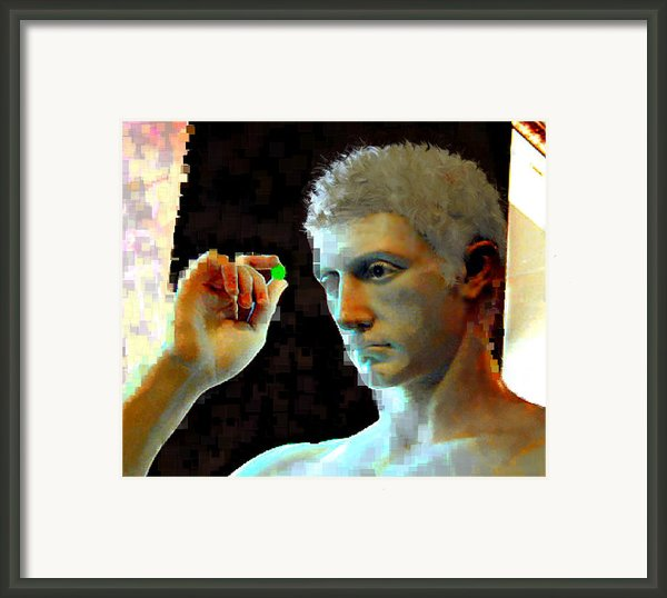 Nude Face Framed Print By Ilias Athanasopoulos