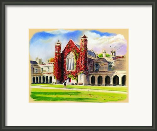 Nuig Framed Print By Vanda Luddy