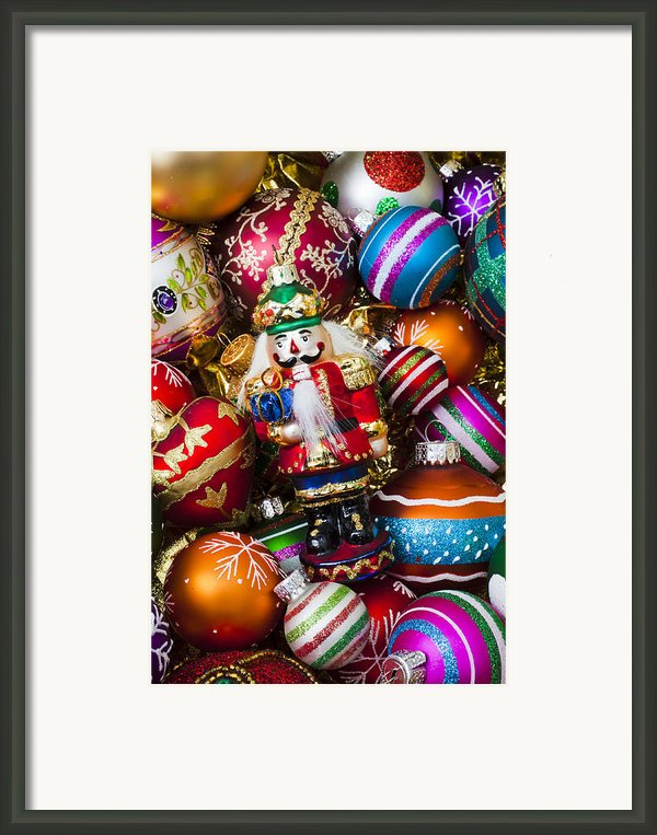 Nutcraker Ornament Framed Print By Garry Gay