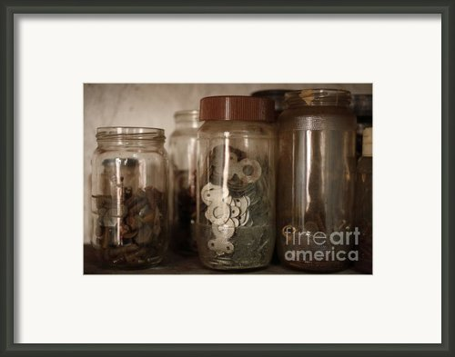 Nuts And Bolts Framed Print By Gaspar Avila