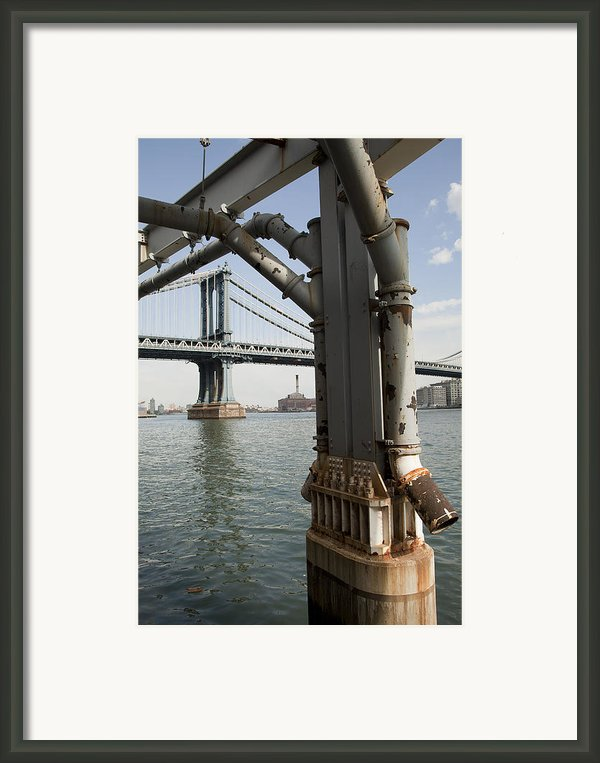 Ny Composition 4 Framed Print By Art Ferrier