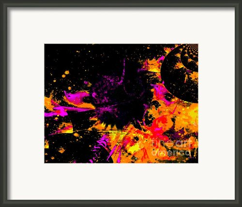 Nyak Planet Framed Print By Fania Simon