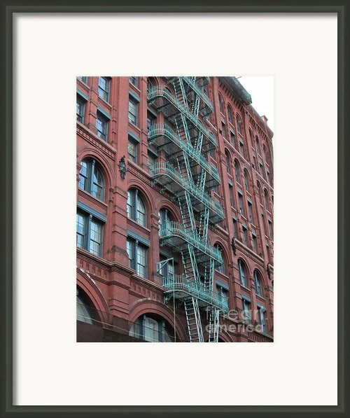 Nyc Architecture 1 Framed Print By Randi Shenkman