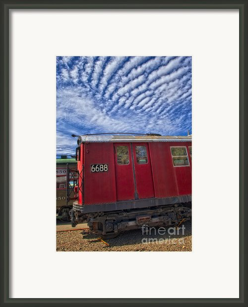 Nyc Subway No 7 Framed Print By Susan Candelario