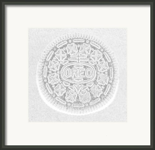 O R E O In White Framed Print By Rob Hans