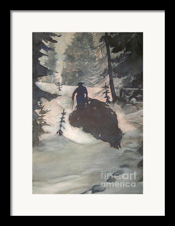 O Tannenbaum Framed Print By Elizabeth Carr