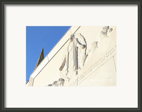Oakland California Temple . The Church Of Jesus Christ Of Latter-day Saints . 7d11351 Framed Print By Wingsdomain Art And Photography