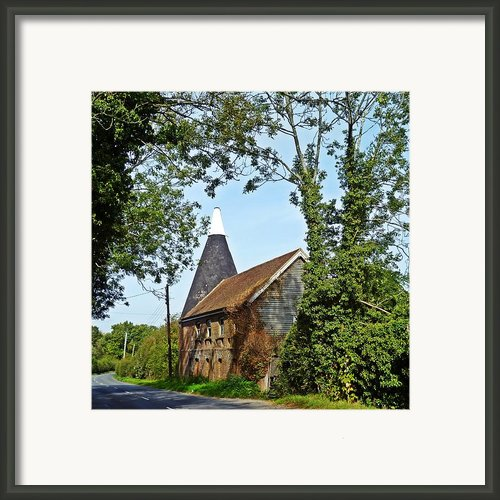 Oast House Framed Print By Sharon Lisa Clarke