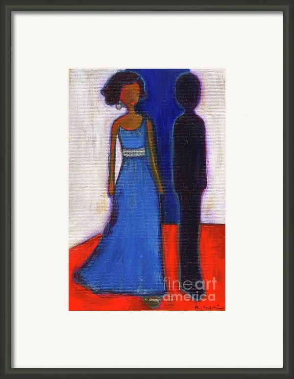 Obama Black And Blue Framed Print By Ricky Sencion