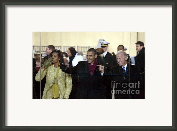 Obama Inaguration, 2009 Framed Print By Granger