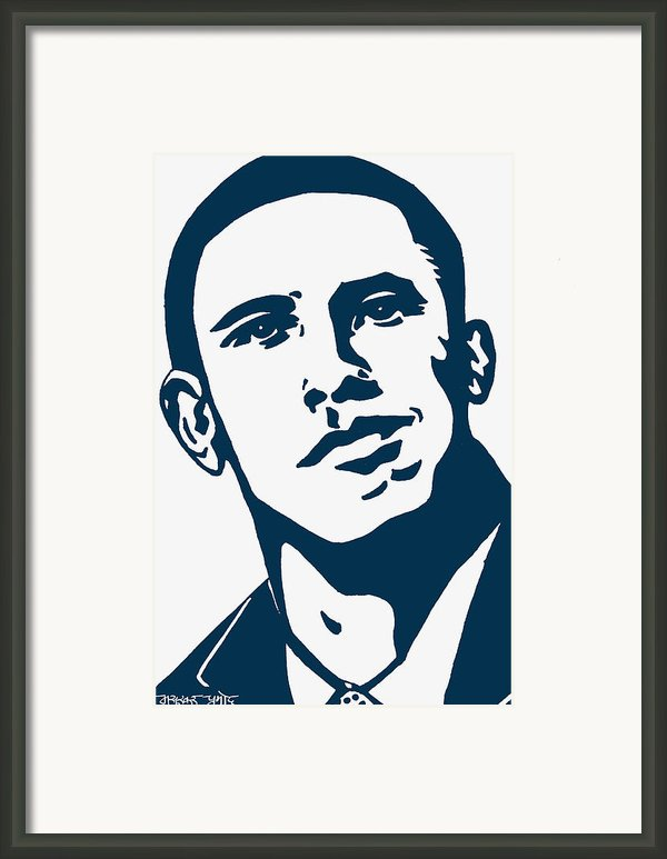 Obama Framed Print By Pramod Masurkar