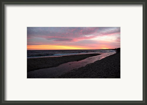 Ocean River Framed Print By Mary Greetham