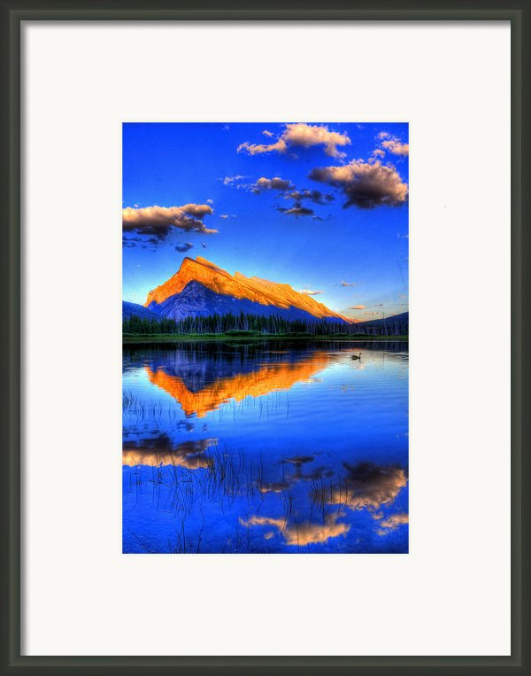Of Geese And Gods Framed Print By Scott Mahon
