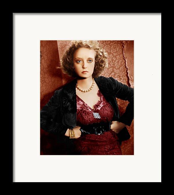 Of Human Bondage, Bette Davis, 1934 Framed Print By Everett