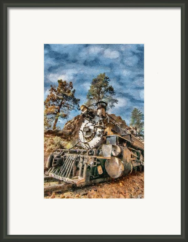 Of Mountain And Machine Framed Print By Jeff Kolker