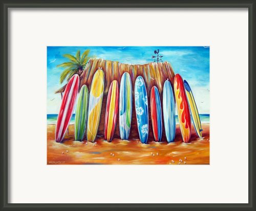 Off-shore Framed Print By Deb Broughton