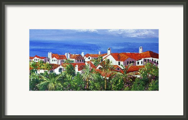 Off The Coast Framed Print By Anthony Falbo